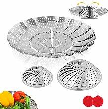 BITEFU 2pcs Vegetable Steamer Basket, Food Grade