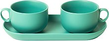 BITOSSI HOME Set 2Pieces Cup Coffee + Tray bis