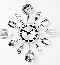 BIts and Pieces - Kitchen Utensil Clock -