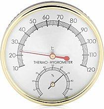 Biunixin Sauna Room Thermometer, Metal Dial Indoor