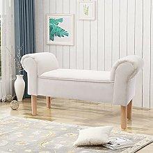BiYeer Chaise Lounge Bench Bed End Hallway Window