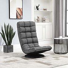 BiYeer Grey Sofa Folding Sofa Chair With