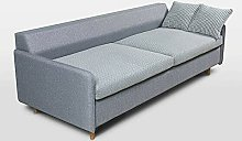BiYeer Grey Sofa Sofa Bed Grey Fabric upholstery