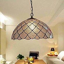 BJClight Classic Tiffany Style Led Ceiling Light,