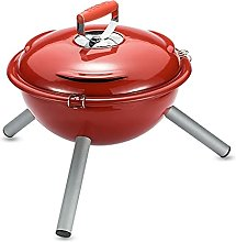 bjyx barbecue grill Enamel Charcoal Grill,Round