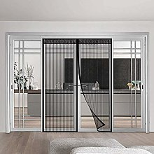 BKPH Magnetic Screen Door,Curtain with Powerful