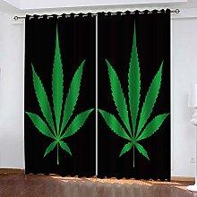 BKTTDS Blackout Curtains Eyelet For Living Room