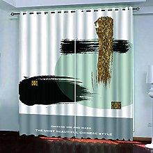 BKTTDS Boys Bedroom Curtains Blackout 200X160cm