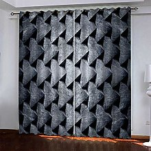 BKTTDS Curtains For Living Room 264X214cm Drop -