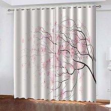 BKTTDS Kids Blackout Curtains Eyelet 200X160cm 2