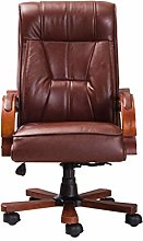 BKWJ Chairs, Boss Chair Solid Wood Office Chair