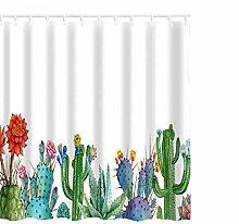 BKYHF Shower curtainBathroom curtain with green