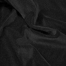 Black 1 Metre - Heavy Weight 100% Cotton Velvet
