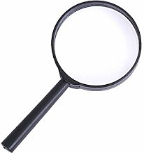Black 10x Magnifying Glass Cost-Effective and Good
