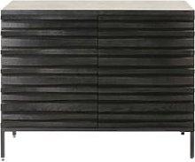 Black 2-Door Sideboard Opal
