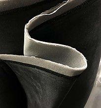 Black 5MM Foam Backed Suede Fabric Scrim Foam