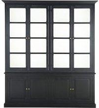 Black 8-Door Bookcase Cambronne