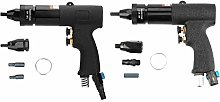 Black Air Riveter Gun Pull Nut Automatic Pneumatic