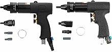 Black Air Riveter Gun Pull Nut Automatic Pneumatic
