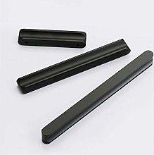 Black Aluminum Kitchen Cabinet Door Handle and