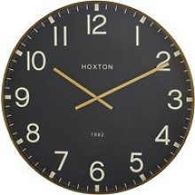 Black and gold clock D74cm