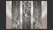 Black and White Swirl 2.45m x 350cm Wallpaper East