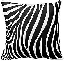 Black and White Zebra Print Stripes Animal Print