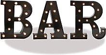 Black Bar Marquee Sign Light Up Black Bar Sign