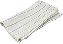 Black Bough - Linen Navy Simple Stripe Napkins -
