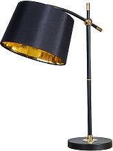 Black & Brass Table Lamp Lampshades Lighting Range