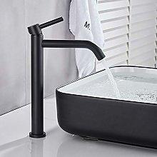 Black/Brushed Gold Single Handle Basin Faucet Deck