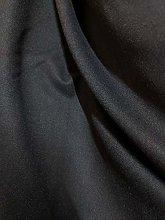 Black Brushed Viscose Fabric Per Meter Flannel