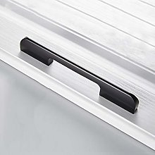Black Cabinet Handle,Aluminum Alloy Drawer