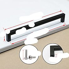Black Cabinet Handle Square Furniture Hardware