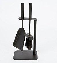 Black Companion Set Fireside Tools Fireplace