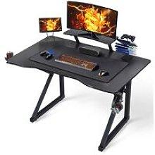 Black Computer Desk Modern Writing Desk Table