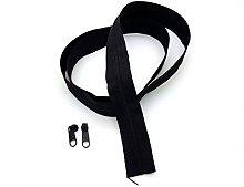Black Continuous Zip & Sliders No. 5 Zippers