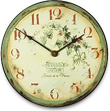 Black Country Metal Works Shabby Chic Wall Clock