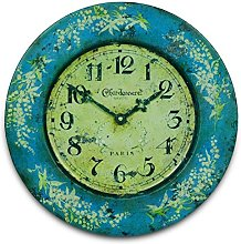 Black Country Metal Works Tin Wall Clock with