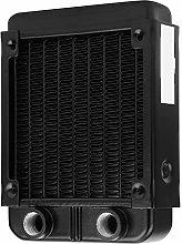 Black CPU Cooler, Aluminum Bridge Water Cooling