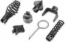 Black Cutter Head Rough Plumbing Cutter Head 7Pcs