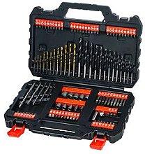 Black & Decker Black+Decker 109Pc Drill Bit Set
