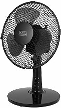 BLACK+DECKER BXFD52003GB 9 inch Desk Fan, 2 Speed,