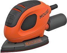 Black + Decker Mouse Sander with 10 Accessories - 55W