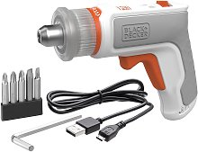 BLACK+DECKER Screwdriver + Furniture Assembly Tool