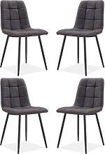Black Dining Chairs Borough Wharf Upholstery