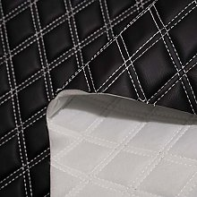 Black Double Stitch Diamond Bentley Car Quilted