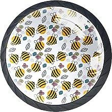 Black Drawer Knobs Cute Bee Dresser Knobs Round