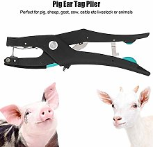 Black Ear Tag Plier, Alloy 27cm Livestock Ear Tag