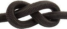 Black Elastic Bungee Rope Shock Cord Tie Down